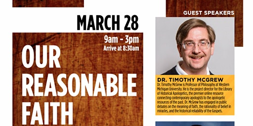 Our Reasonable Faith Conference