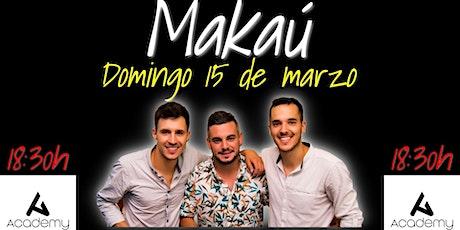 Makaú - Flamenco/fusión en CONCIERTO! Makau 18:30 entradas