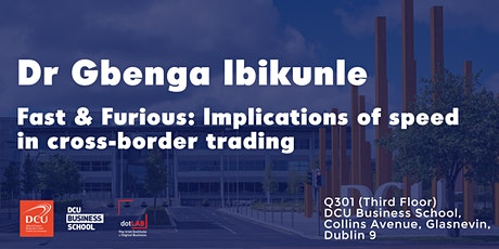 Fast and furious: Implications of speed in cross-border trading tickets