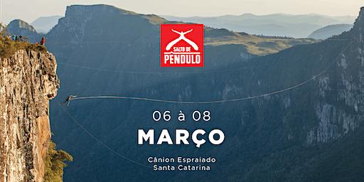 Salto de Pêndulo Natural Extremo | MARÇO | Cânion Espraiado - Urubici