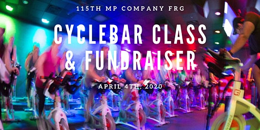 CycleBar Fundraiser for the 115th FRG