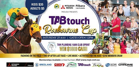 Roebourne Races 2020   TAB Touch Roebourne Cup tickets