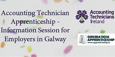 Accounting Technician Apprenticeship - Information Session in Galway for Employers
