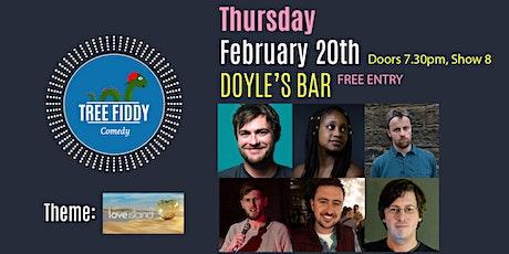 Tree Fiddy Comedy - Love Island edition - Ronan Grace - Free tickets
