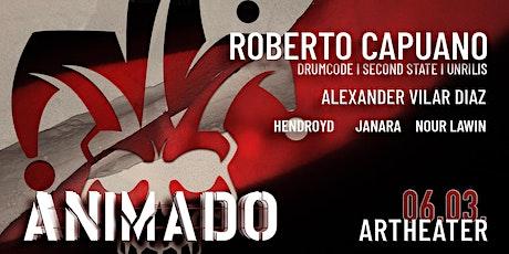ANIMADO x ROBERTO CAPUANO Tickets