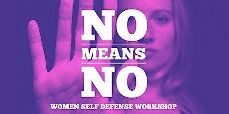 NO MEANS NO - Women self defense tickets