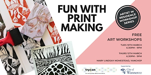 Fun with Print Making - Evening Workshop