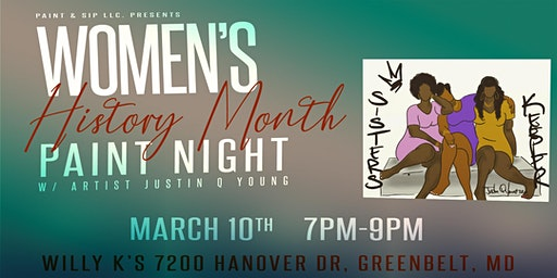 Women's History Month Paint Night
