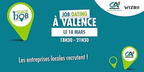 Job Dating Valence : décrochez un emploi dans votre région billets