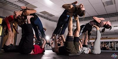 Choreographed group Acroyoga Session + Performance