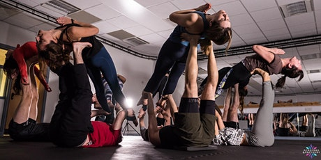 Choreographed group Acroyoga Session + Performance video tickets