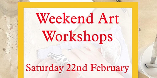 Weekend Arts and Crafts Workshop for Children - with the Craft Corner