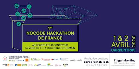 Nocode hackathon : concevoir la mobilité et la logistique de demain tickets