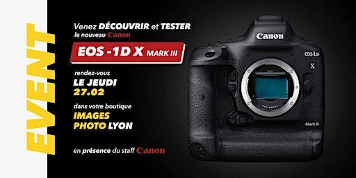 Journée de presentation du Canon 1DX Mark III