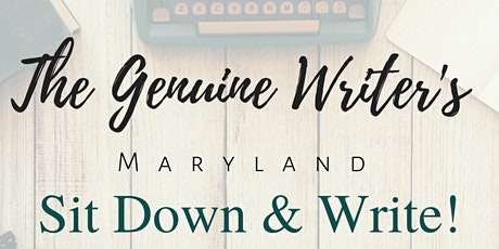The Genuine Writer's SIT DOWN & WRITE! tickets