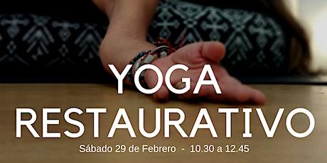 Taller Yoga Restaurativo ingressos