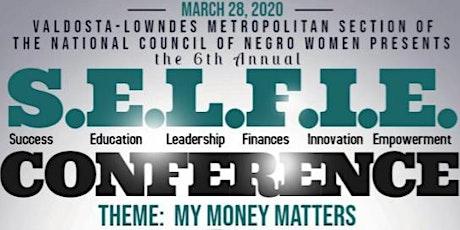 S.E.L.F.I.E. Conference tickets