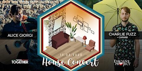 House Concert. Alice Giorgi + Charlie Fuzz biglietti