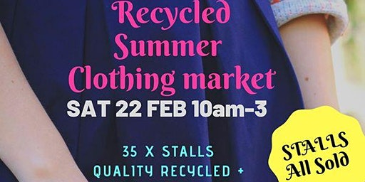 All Things Recycled Summer Clothing Market