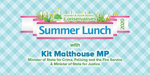 The South Downs Summer Lunch 2020 with Kit Malthouse MP