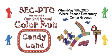 Swiftwater Elementary Center PTO 2nd Annual COLOR RUN tickets