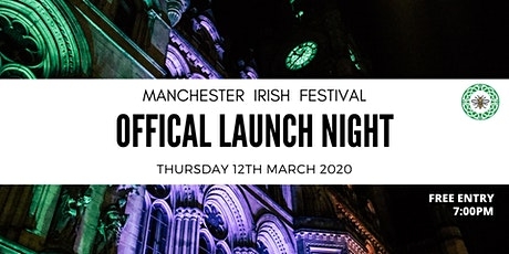 Launch of the 25th Manchester Irish Festival tickets