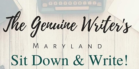 Sit Down & Write! - hosted by The Genuine Writer's Retreat tickets