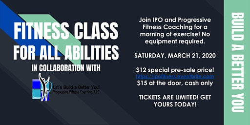 IPO's Fitness Class for All Ability Levels
