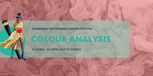 Cambridge Sustainable Fashion Fest: Colour Analysis