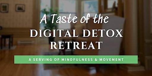 A Taste of the Digital Detox Retreat