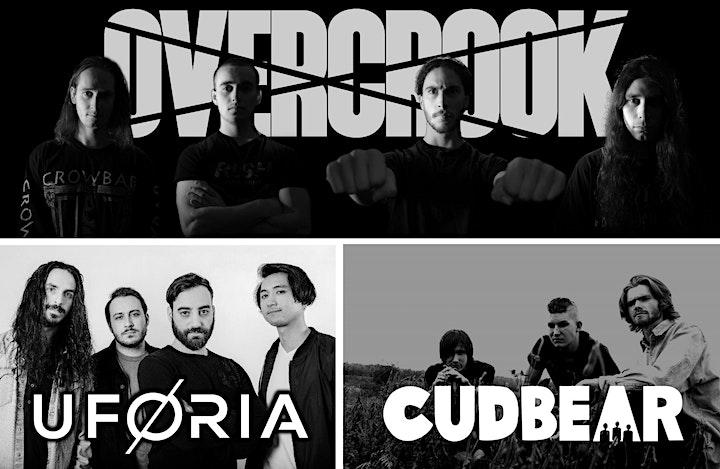 ROCK 95 BREAKOUT SOUND: Cudbear, Uforia & Overcrook + THE FOUR PILLARS image