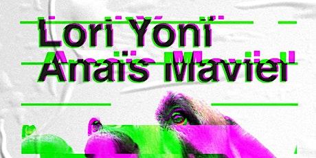Lori Yonï // Anaïs Maviel na Audio Rebel ingressos