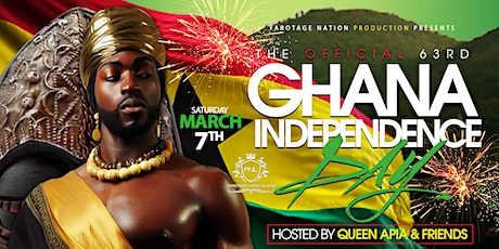 The Official Ghana's 63rd Independence Day Celebration tickets