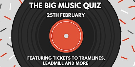 The Big Music Quiz tickets