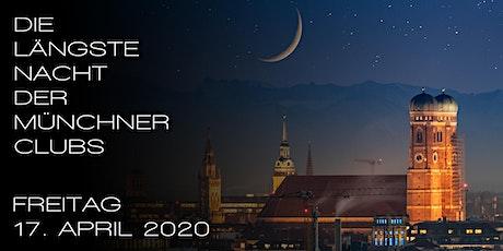 Die längste Nacht der Münchner Clubs Tickets