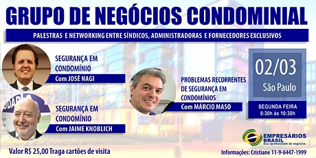 02-03 Grupo de negócios Condominial tickets