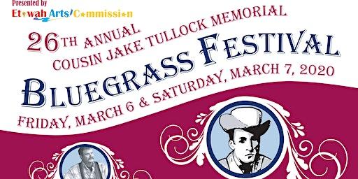 26th Annual Cousin Jake Memorial Bluegrass Festival