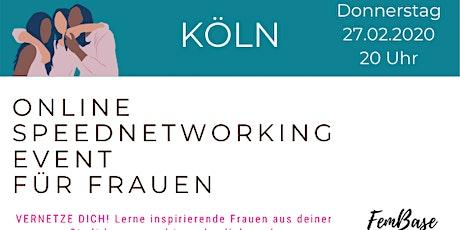Köln SPEEDNETWORKING Event für Frauen Tickets