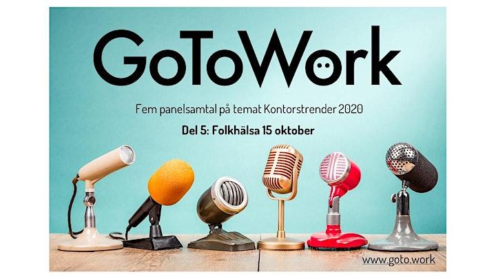 FOLKHÄLSA  Panelsamtal på Zoom 15 oktober bild