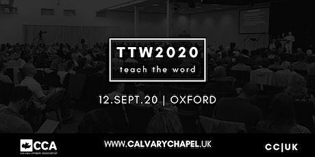 TEACH THE WORD 2020 tickets