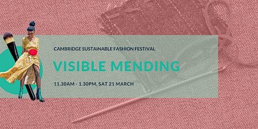 Cambridge Sustainable Fashion Fest: Visible Mending