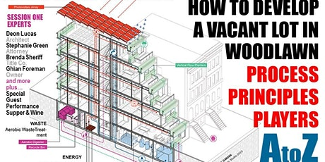 How To Develop A Vacant Lot in Woodlawn tickets