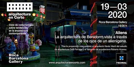 Charla con  el arquitecto Xavier Martí (OAB) y el fotógrafo Roberto Alcaraz