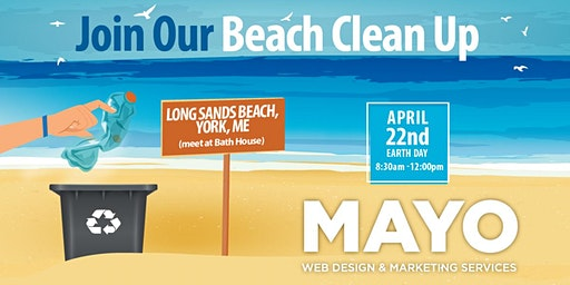 Earth Day Beach Clean Up - York, ME
