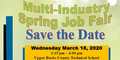 Multi- Industry Spring Job Fair