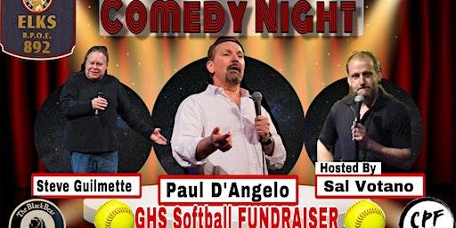GHS Softball Comedy FUNdraiser