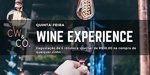 20/02 (quinta-feira) Wine Experience | Uma noite, vários rótulos!