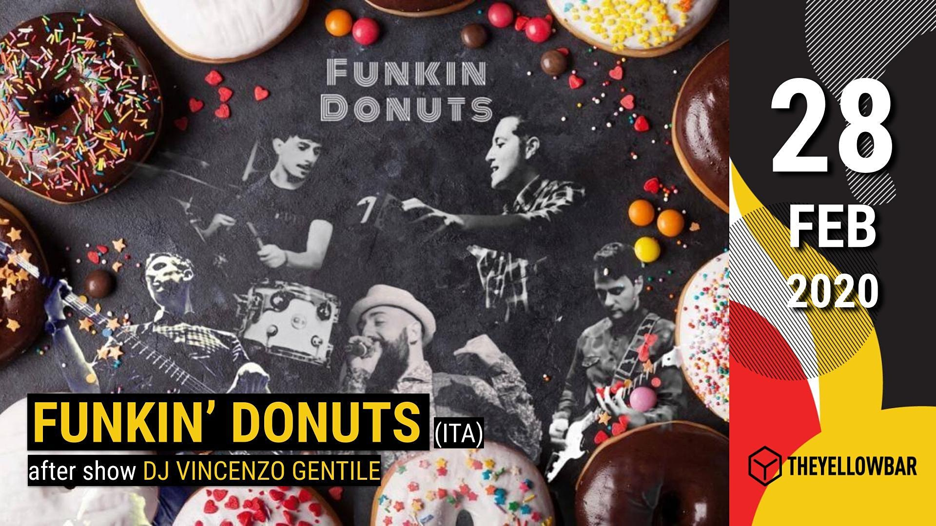 Funkin' Donuts - The Yellow Bar