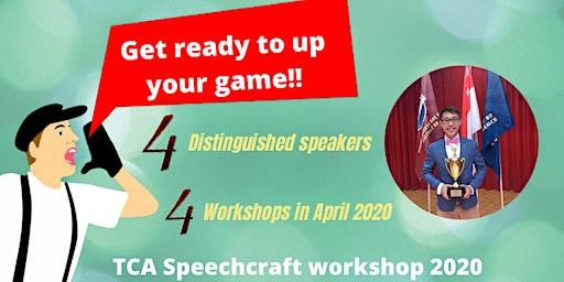 Speechcraft Workshop 2020 part 2 - Managing Table Topics