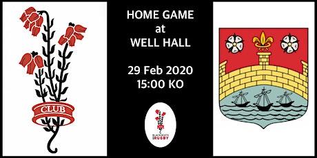 Blackheath v Cambridge 29/2/2020 tickets